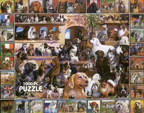 World Of Dogs 1000pc Puzzle