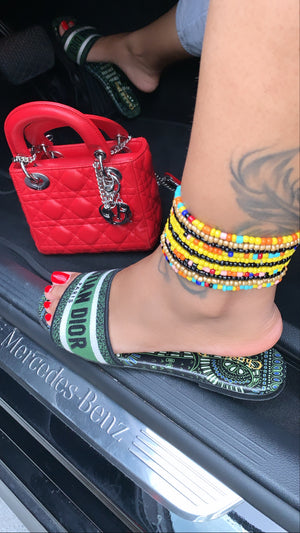 Egyptian Goddess Anklets