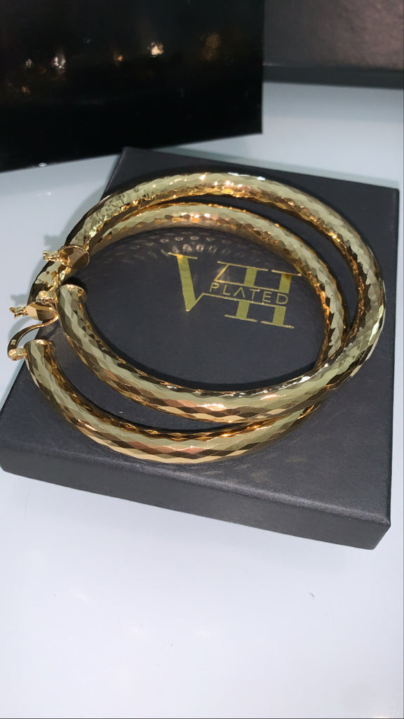 XXL HAMMERED Hoops