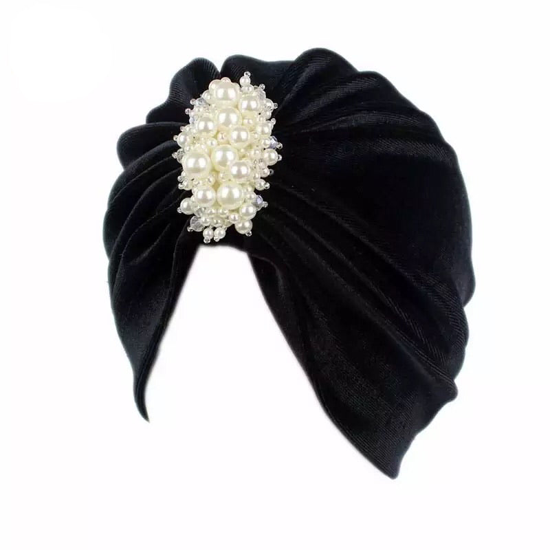 VII MOTHER OF PEARL TURBAN
