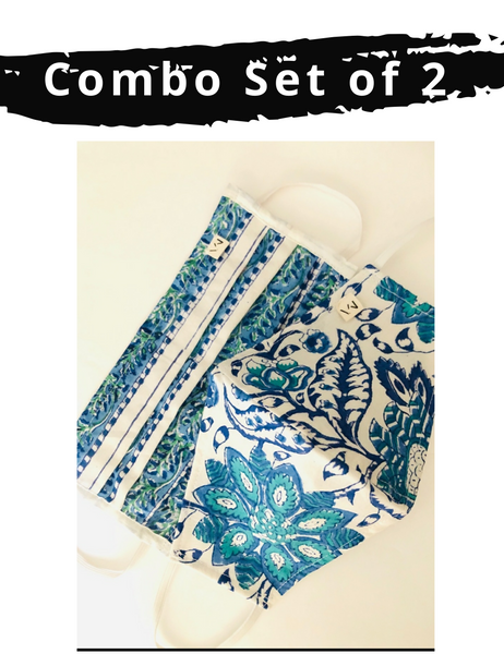 VYNI - Combo Set Pack of 2 Face Mask