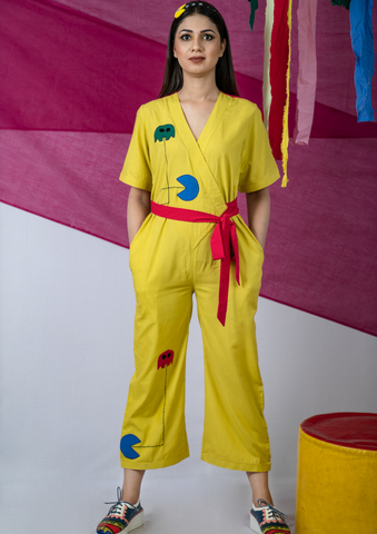Pac-man Mellow yellow Jumpsuit