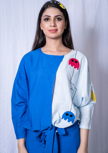 Pac-man Overlap Knotted top