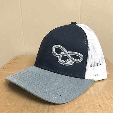 Navy & Gray Hat