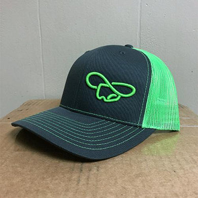 Green & Gray Hat