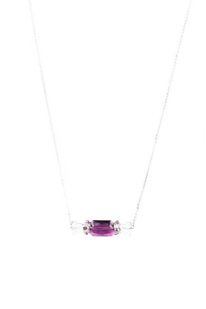 W BonBon Necklace I - Purple