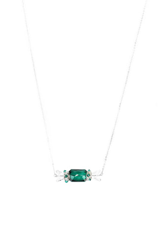W BonBon Necklace I - Green