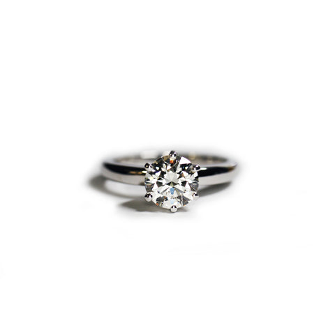 1.12 Carat Diamond Engagement Ring