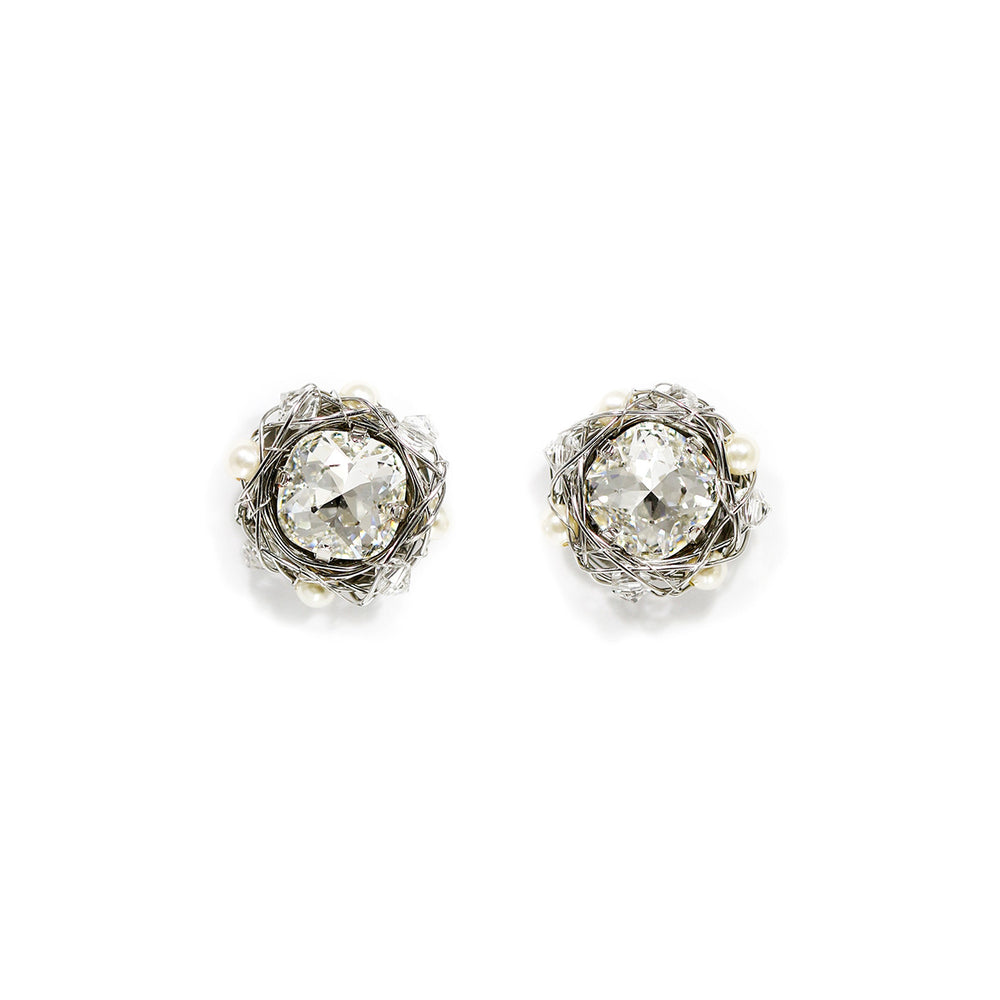 Classic Cushion Stud Earrings | 12mm