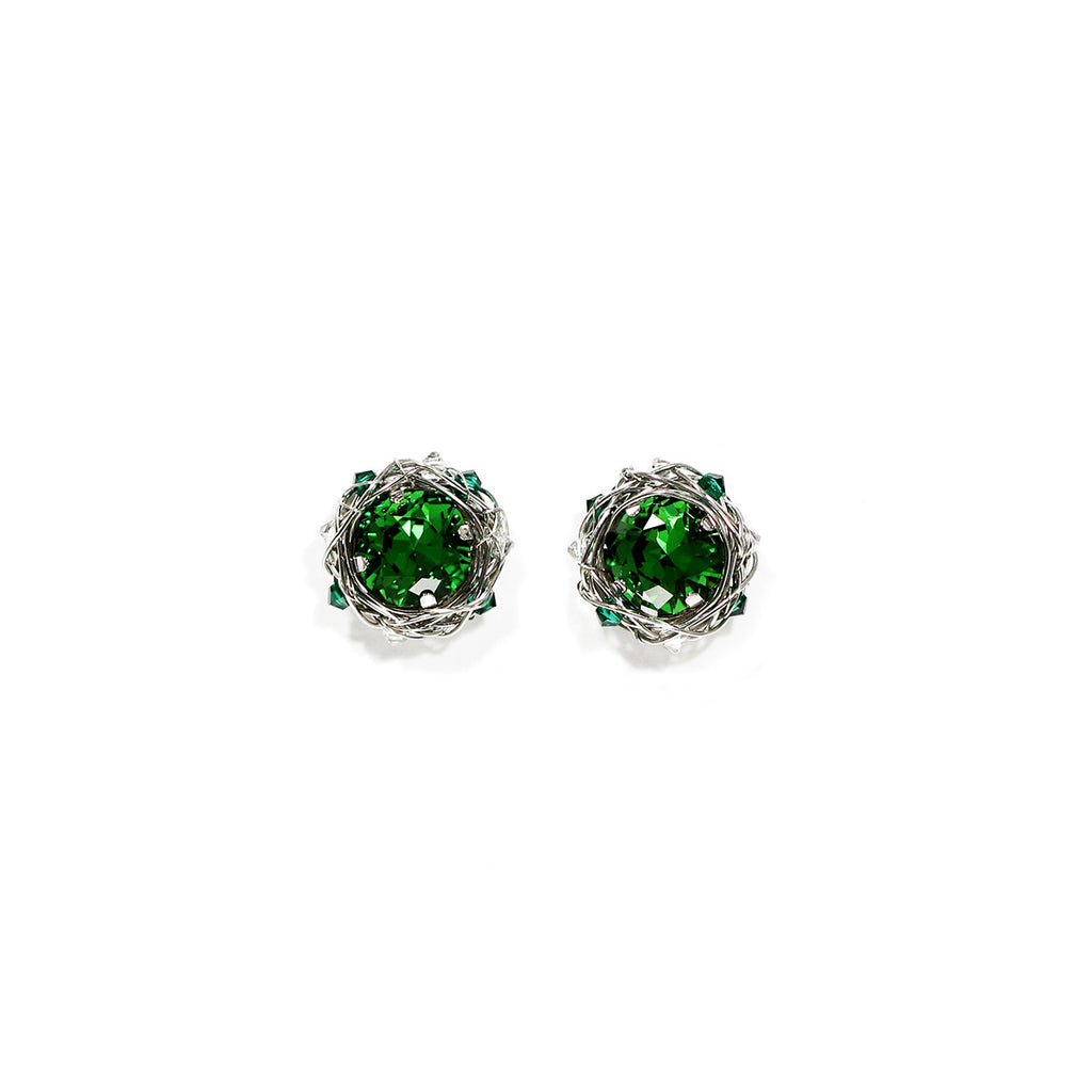 Classic Cushion Stud Earrings | 10mm