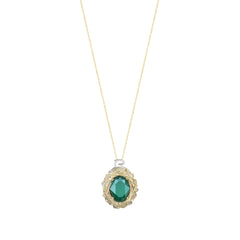 Royal Series | Classic Faith Pendant | Green