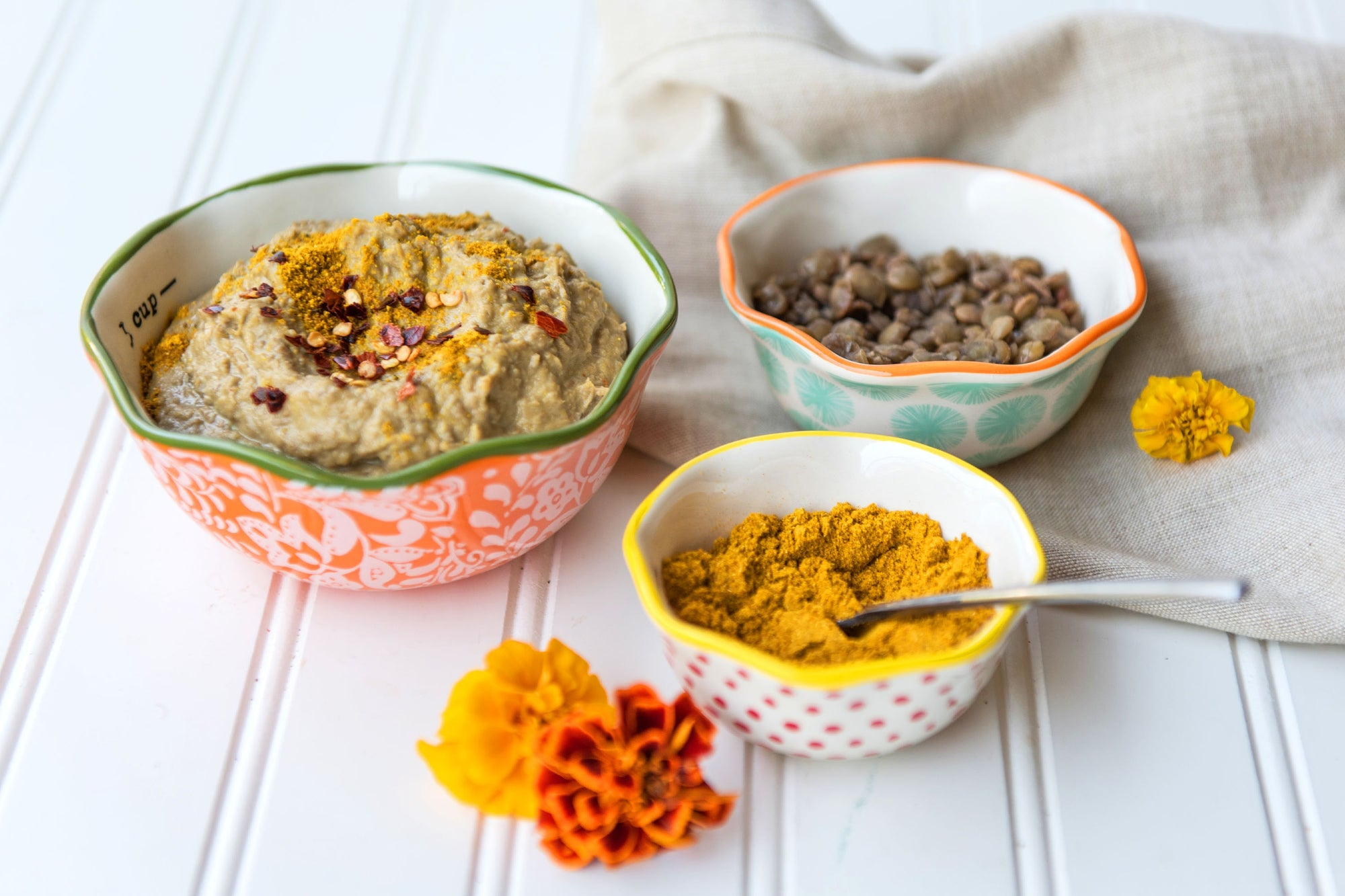 Luscious Lentil Curry Dip