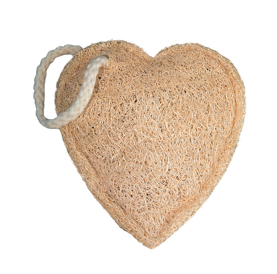 Croll & Denecke Heart Shaped Loofah Sponge
