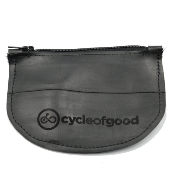 Cycle Of Good Recycled Inner Tube Coin Purse