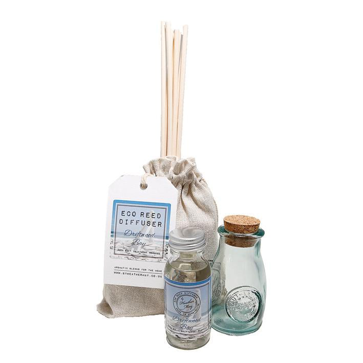 Heather May Eco Reed Diffuser: Driftwood Bay, Oriental Spa,
