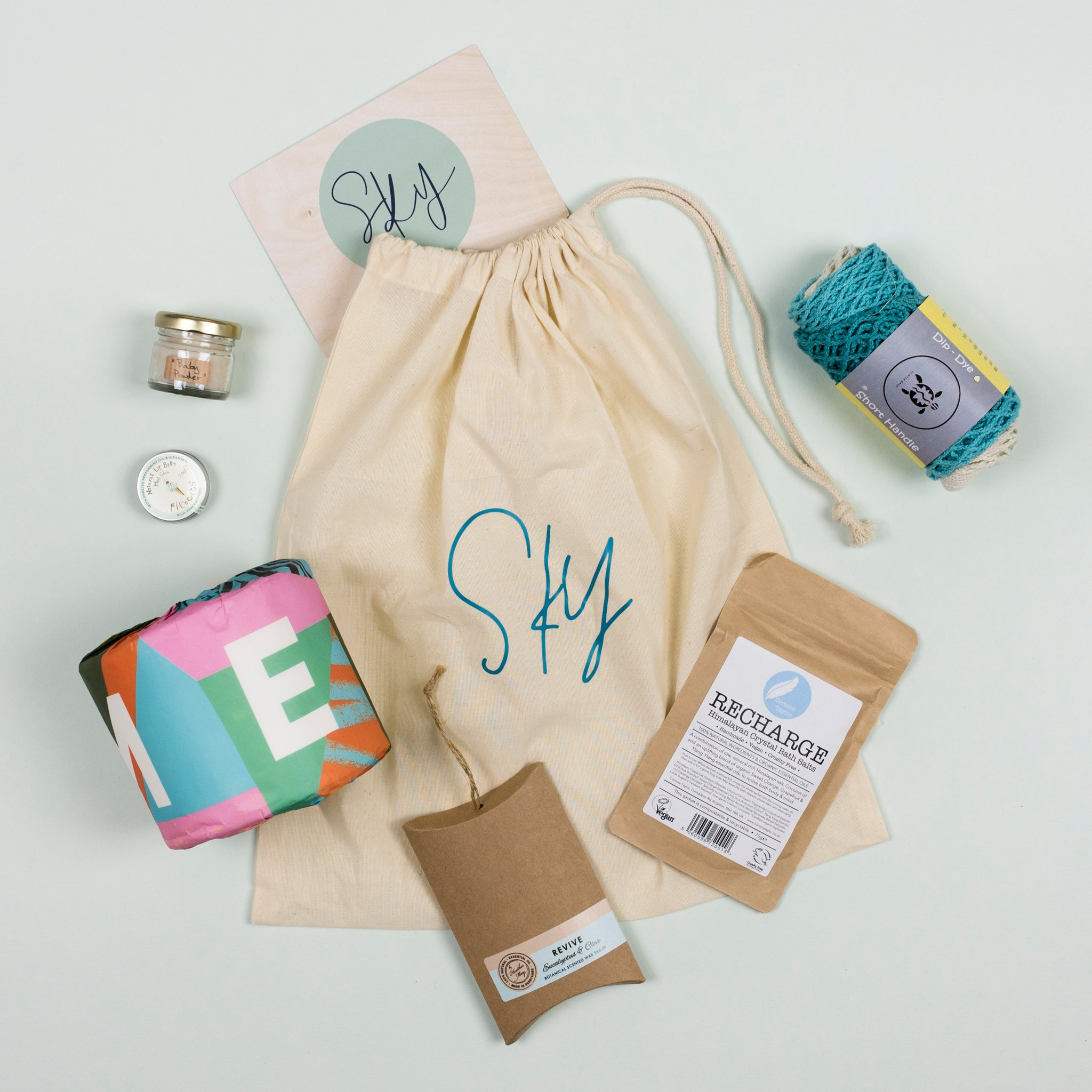Eco Gift Bag SKY - LIMITED EDITION NEW ONLINE!!
