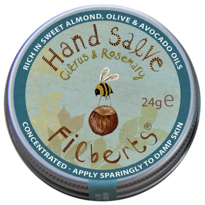 Filberts of Dorset Hand Salve: Citrus & Rosemary BRAND NEW ONLINE!!
