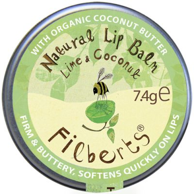 Filberts of Dorset Lip Balms: Rose, Lime & Coconut, Unscented BRAND NEW ONLINE!!