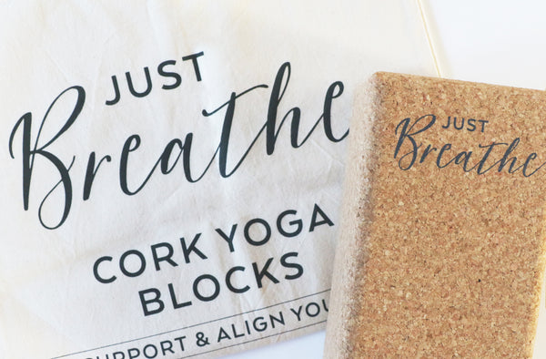 Liga Cork Just Breathe Yoga Blocks - 2 Pack BRAND NEW ONLINE!!