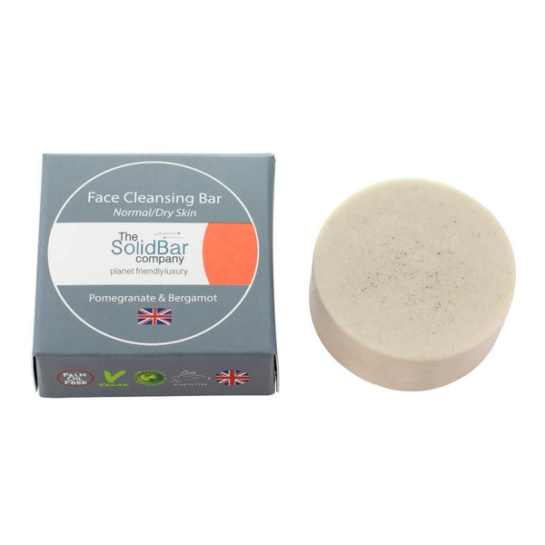 The Solid Bar Bergamot and Pomegranate Face Cleansing Bars NEW ONLINE!!