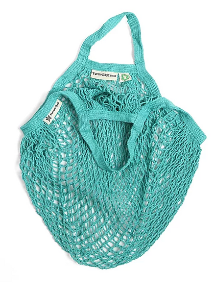 Turtle Bag Organic Short-Handled String Bag