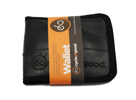 Cycle Of Good Recycled Inner Tube Wallet
