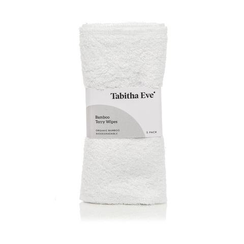 Tabitha Eve Bamboo Terry Wipes