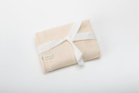 Conscious Skincare 100% Organic Double-Sided Cotton Face Flannel