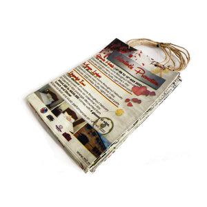 Cycle Of Good Single Upcycled Newspaper Gift Bags LARGE BRAND NEW ONLINE!!