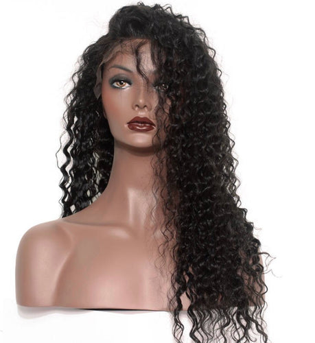 360' Frontal Wig Deep Curly