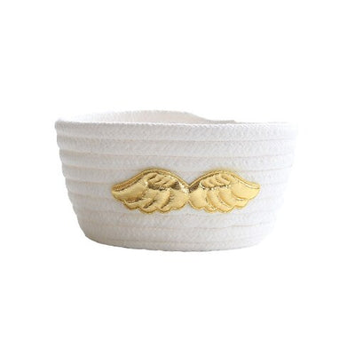 Round Cotton Storage Organizer Baskets