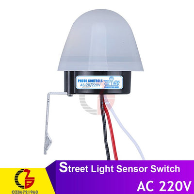Automatic Auto On Off Photocell Street Light Switch