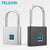 Fingerprint Lock Keyless USB Rechargeable Smart Padlock