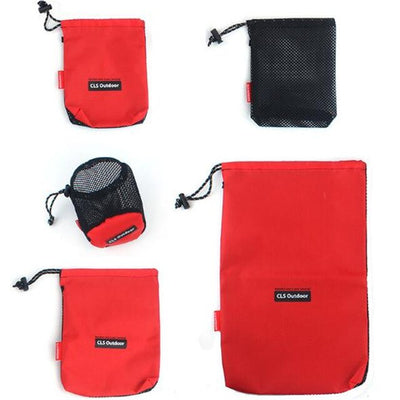 (1 set) Hiking Small Pocket Gadget Pouch Outdoor Equipment