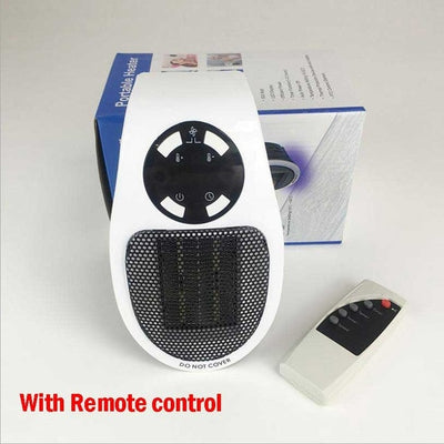 110-220V Wall-Outlet Mini Electric Air Heater