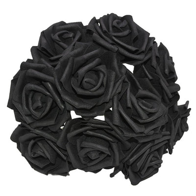New Colorful Artificial PE Foam Rose Flowers