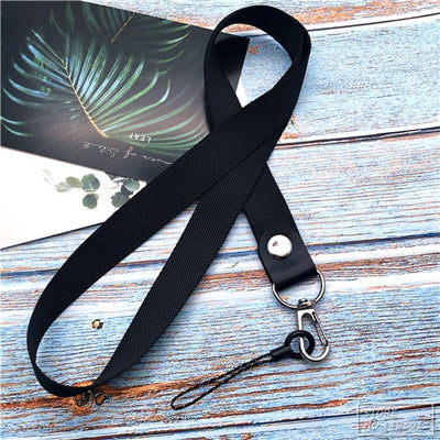 Mobile Phone Straps Metal Clip Hanging Neck Rope