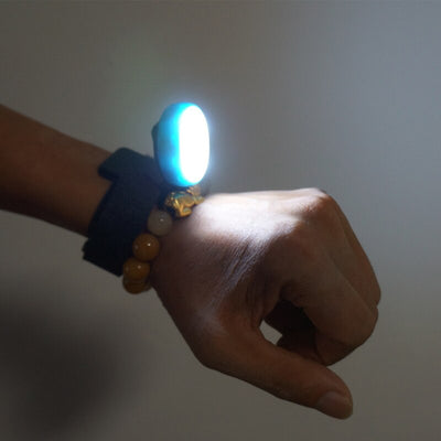 Outdoor USB charging multi-function wrist light