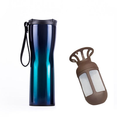 Smart Stainless Steel Thermal Vacuum Water Bottle