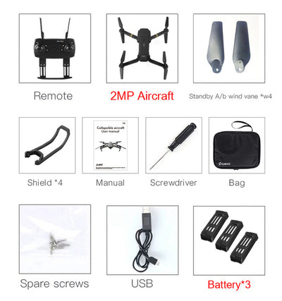 High Hold Mode Foldable Arm RC Drone Quadcopter