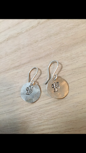 Saguaro Sterling earrings