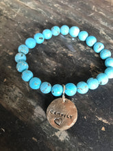 Load image into Gallery viewer, Personalized Stretchy stone bracelet