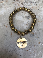 Load image into Gallery viewer, Inspire hematite bracelet