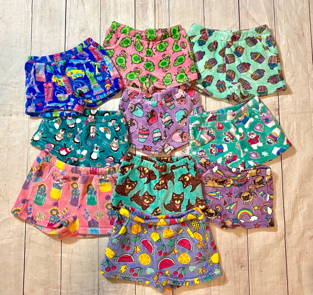 Candy Pink PJ Shorts- holiday prints are here! - jernijacks