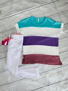 Color Block Top - jernijacks