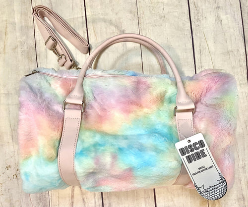 Cotton Candy Fur Duffel - jernijacks