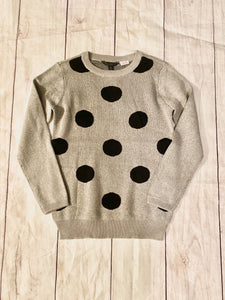 Long-sleeve Sweater, Red, Black, & Gray - jernijacks