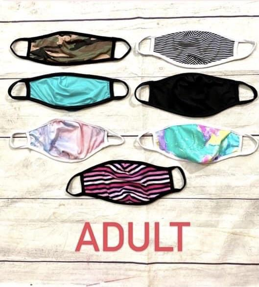 Masks: Adult, Tween, 2T-6x! - jernijacks