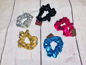 Metallic Scrunchies - jernijacks