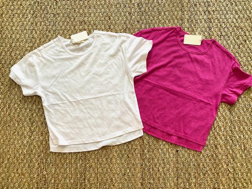 Mila Jersey Tee- 2 Colors - jernijacks